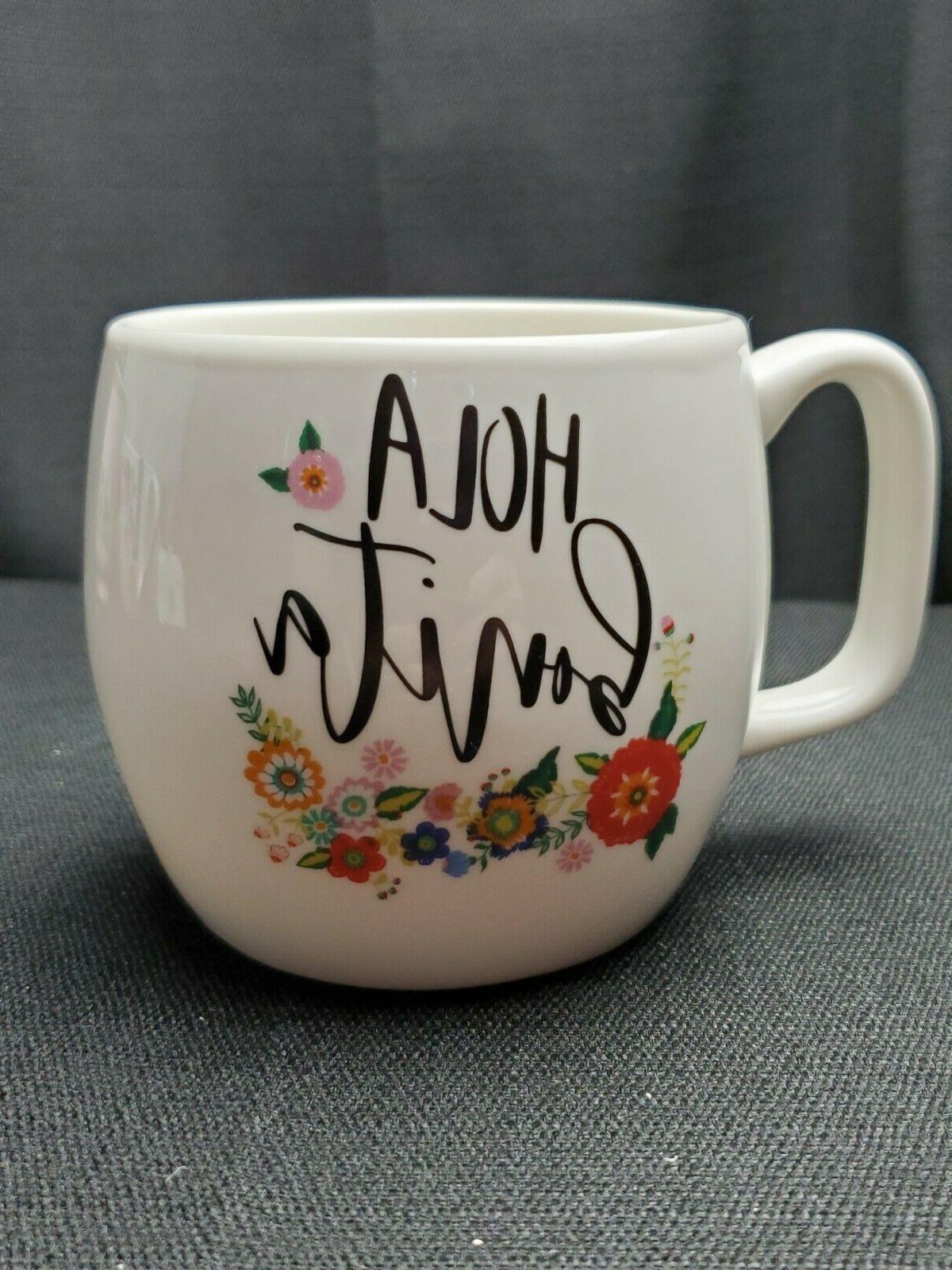 coffee mug hola bonita target bird floral