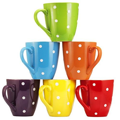 Coffee Mug Set Set of 6 Ounce Restaurant Coffee Bruntmor