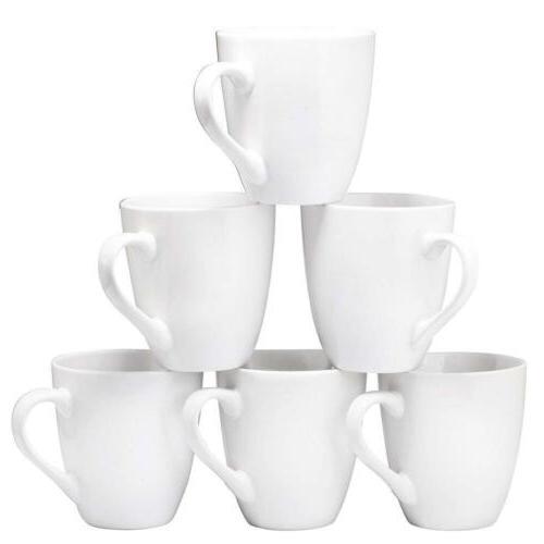 Coffee Mug Set of 6 Ceramic Restaurant