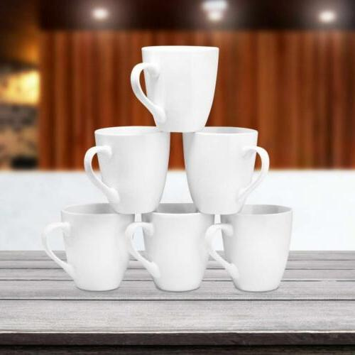 Coffee Mug 6 Large-sized Ounce Ceramic Restaurant By Bruntmor...