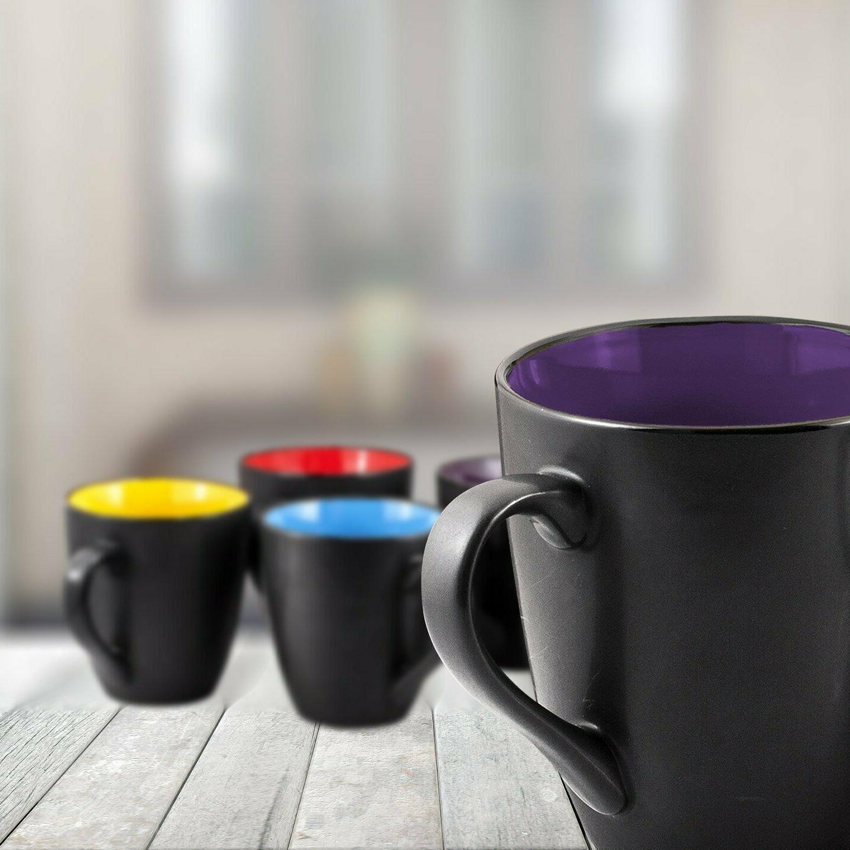 Coffee Mug Set of 16 Ounce Ceramic Coffee Restaurant