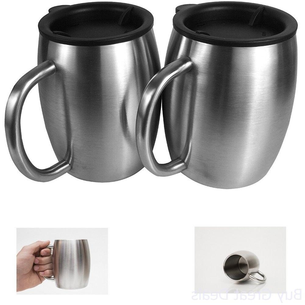 coffee mug stainless steel double
