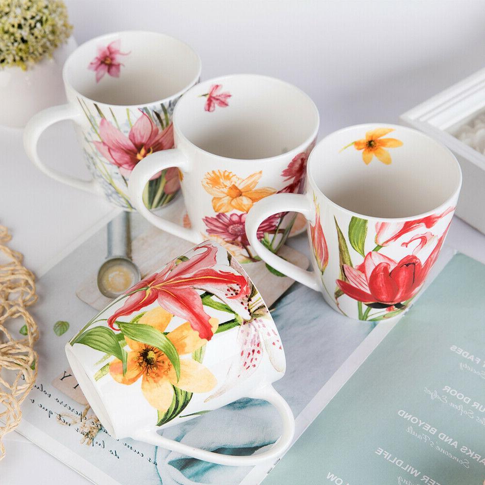 Coffee Tea Floral 4