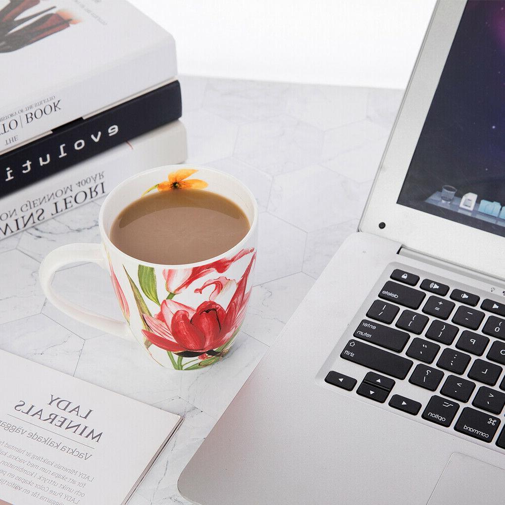 Coffee Set, New Floral Design, Set 4
