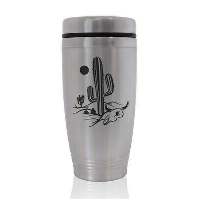 commuter travel mug cactus