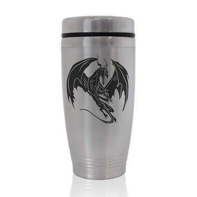 commuter travel mug dragon