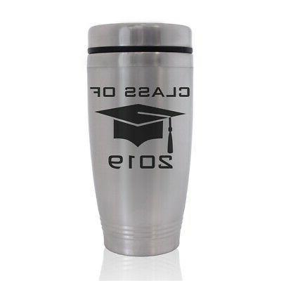 commuter travel mug grad cap class of