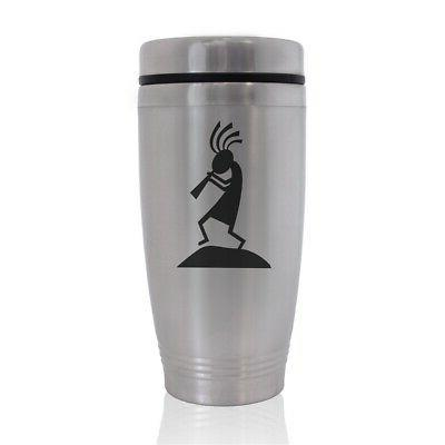 commuter travel mug kokopelli