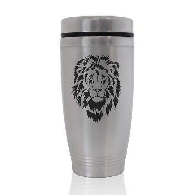 commuter travel mug lion head