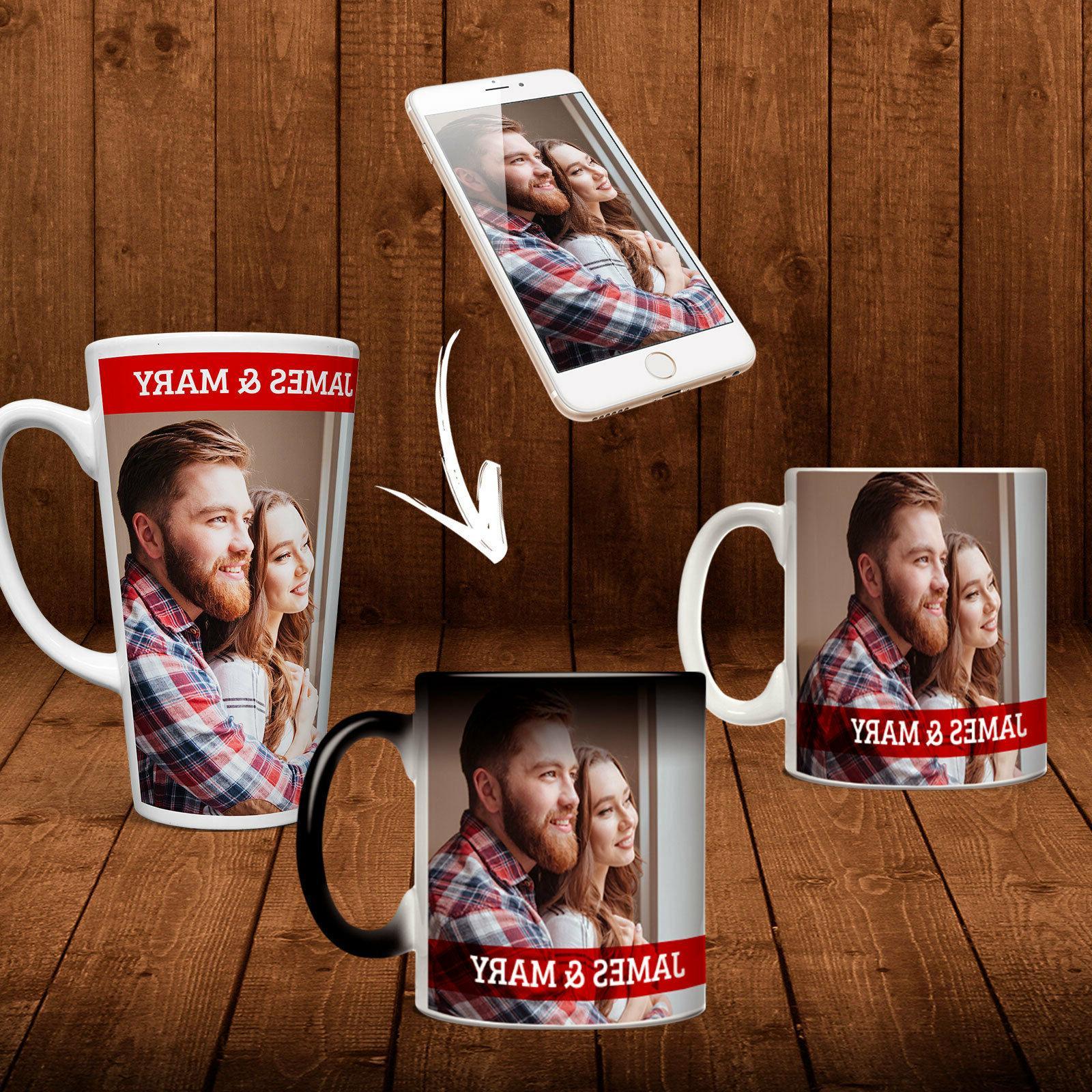 custom magic color change mug photo cup