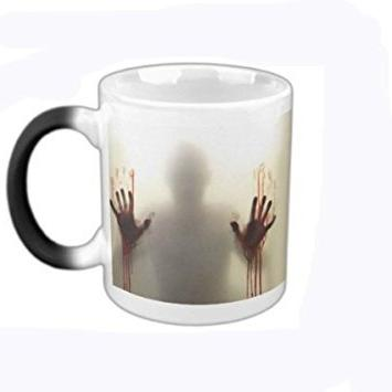 custom morphing mugs walking dead