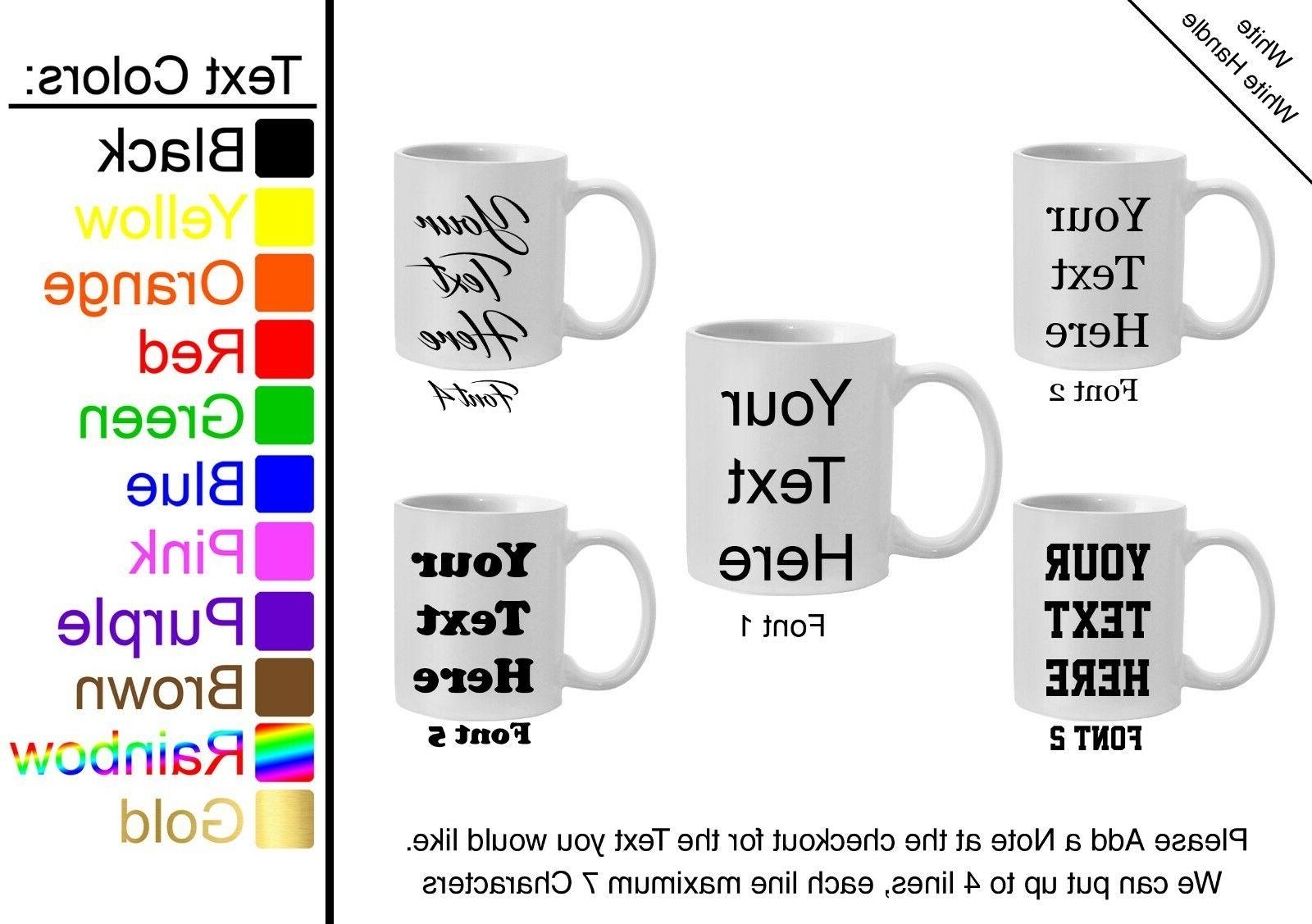 Customized Mugs Choose Personalized