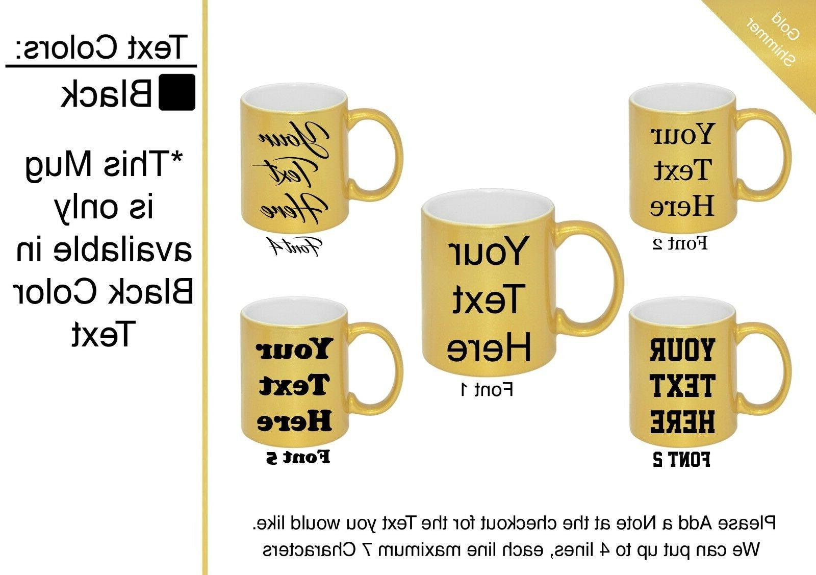 Customized 7 Mugs to Personalized