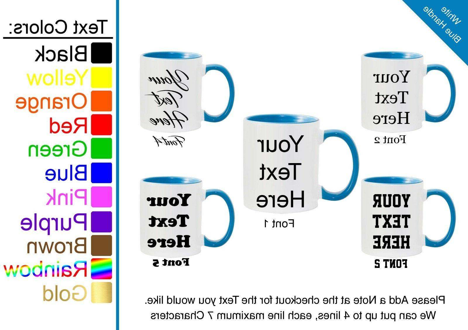 Customized Personalized Mug Custom