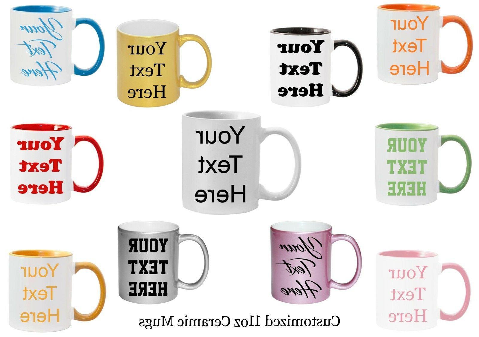 customized mugs 7 ceramic mugs to choose
