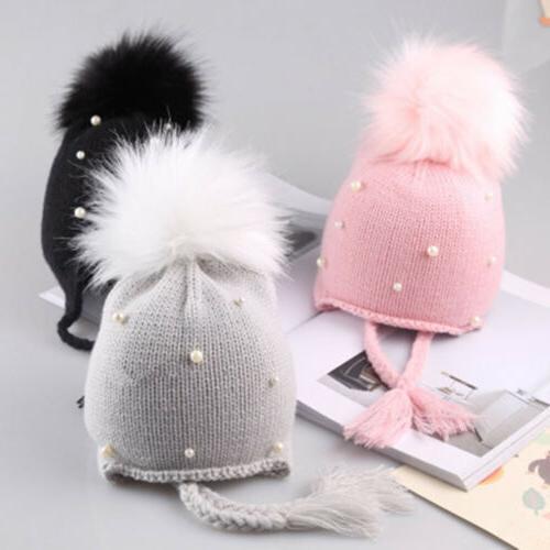 Cute Toddler Kids Girls Baby Infant Winter Warm Crochet Knit