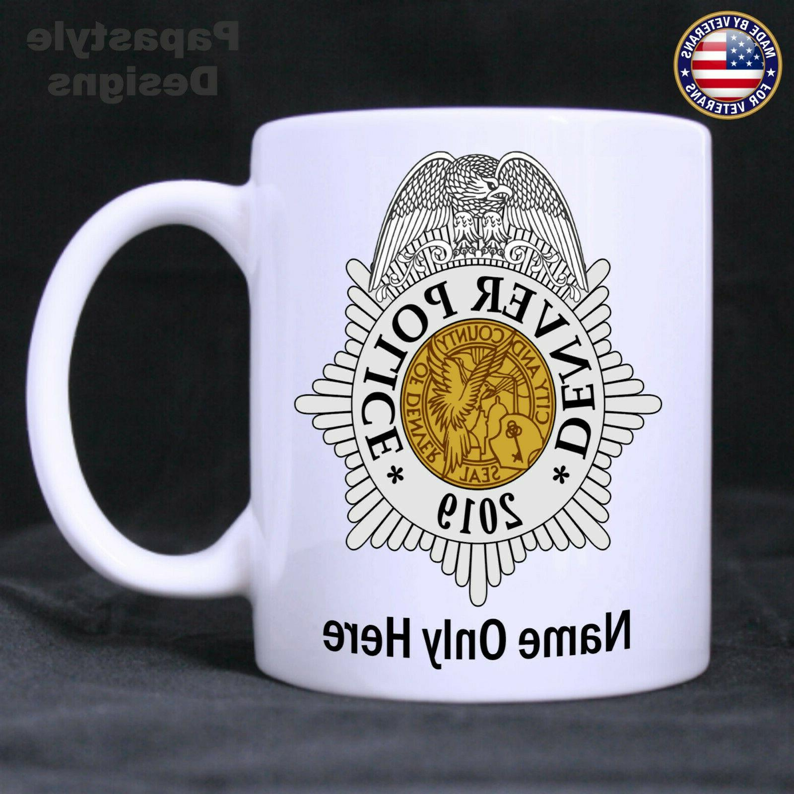 Denver Officer 11oz Coffee in the