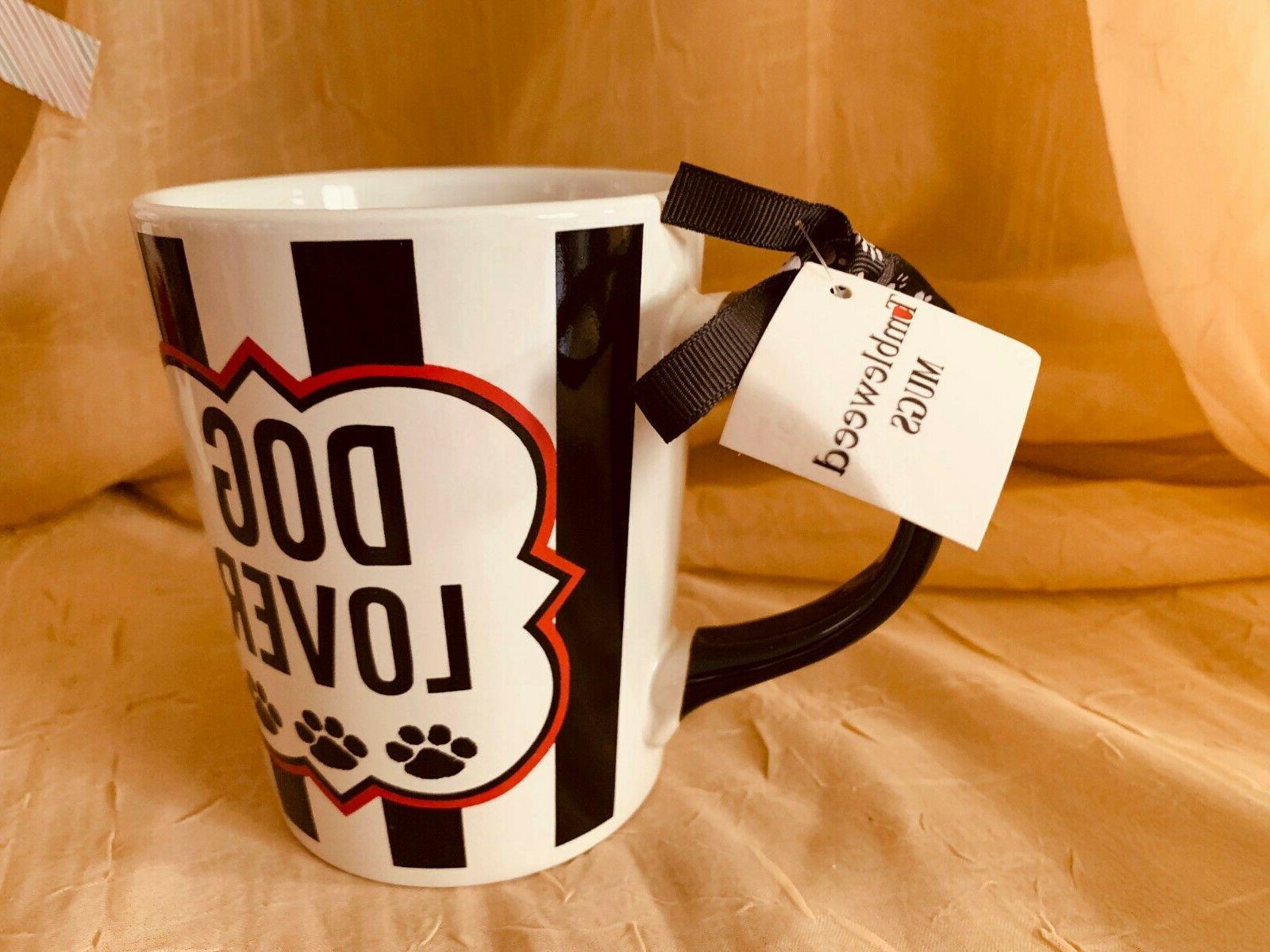 TUMBLEWEED DOG COFFEE CUPS MUG OUNCES STONEWARE