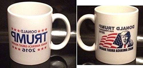 Donald Trump 2016 Mug Make America Great Again