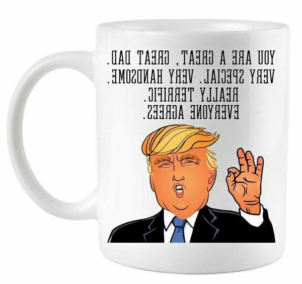 donald trump father s day coffee mug