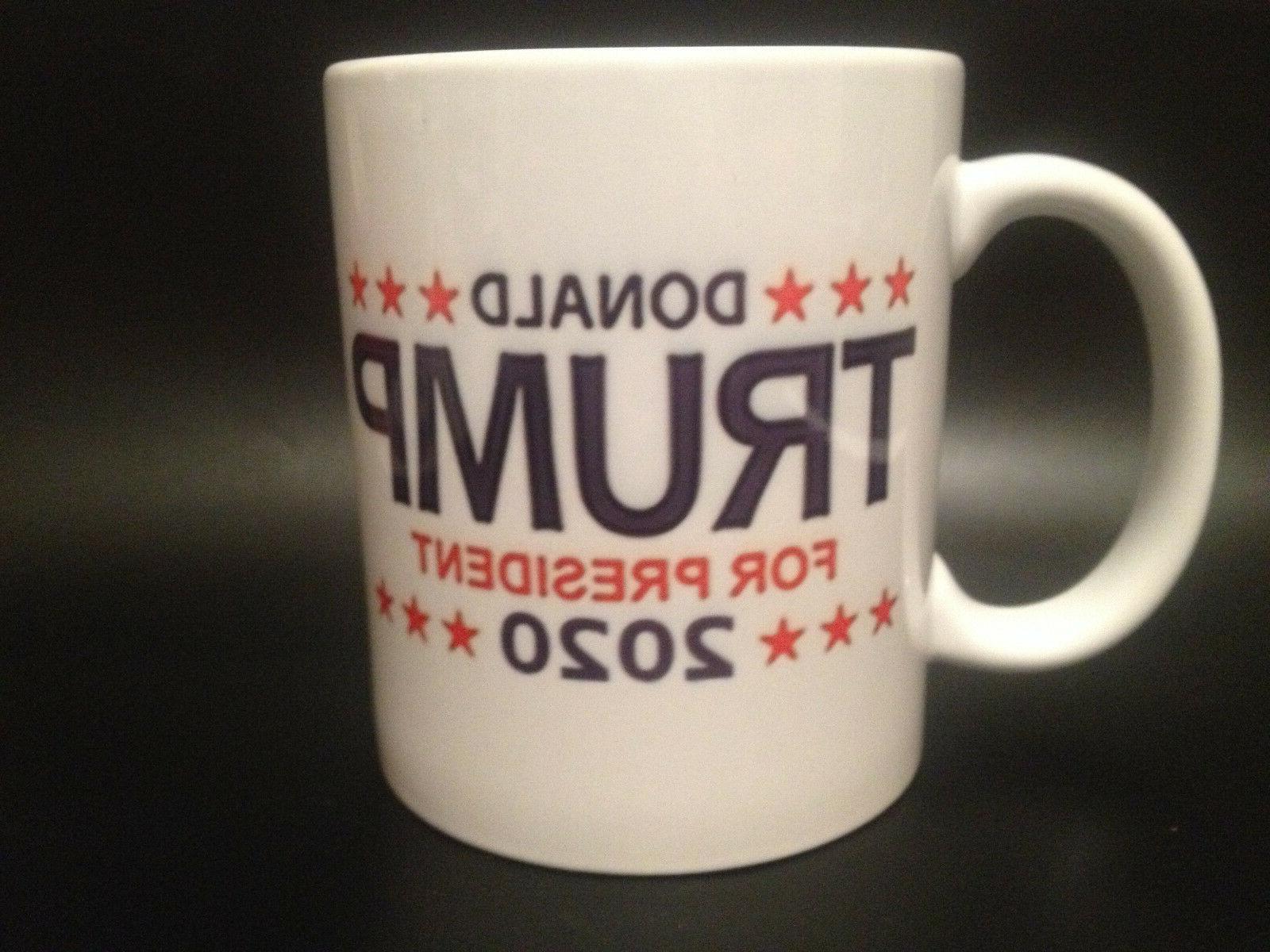 DONALD TRUMP 2020 COFFEE MUG AMERICA GREAT