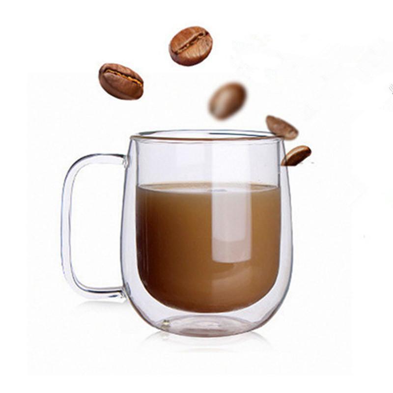 Double the Handle Insulation Tea Cup Gift Drinkware Milk