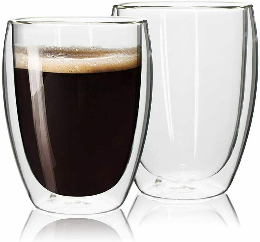 Glass Cup 12OZ Set