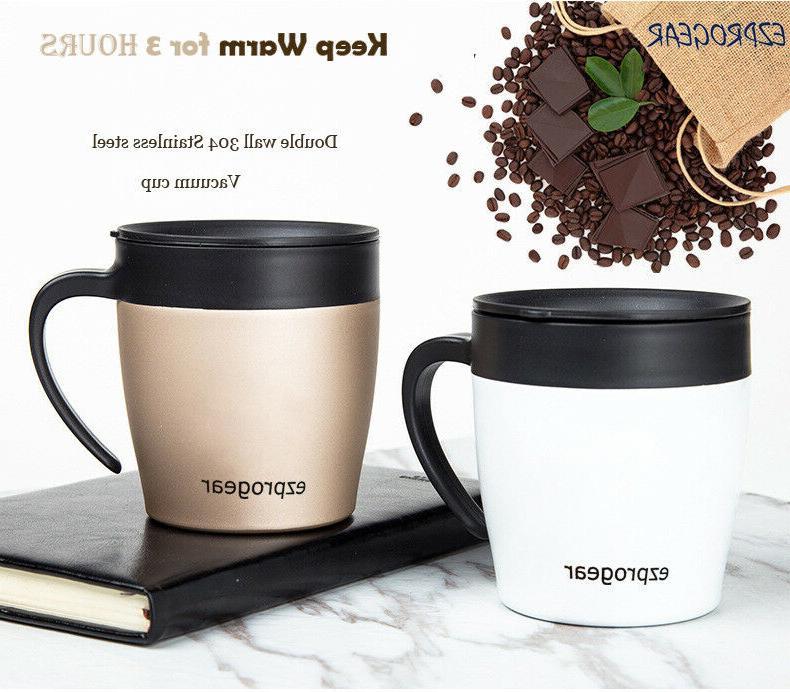 Ezprogear 11 oz Wall Stainless Steel Coffee Mug