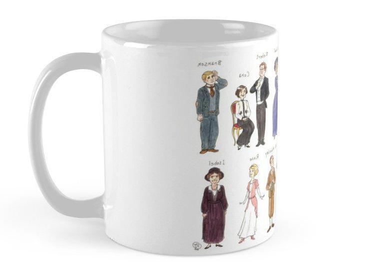 Downton A. Portraits Downton Abbey Oz Mugs