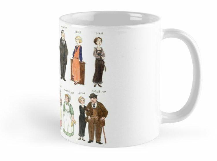 Downton A. Downton Abbey Mugs