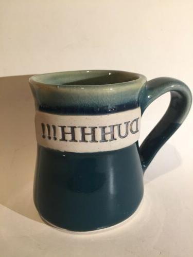 """Tumbleweed Pottery, """" DUHHH!!!"""" 16 ounce Ceramic Mug, New Co"""