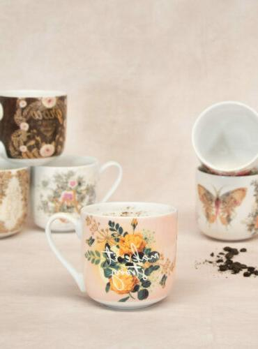 e8 art kitchen dining 12oz porcelain coffee