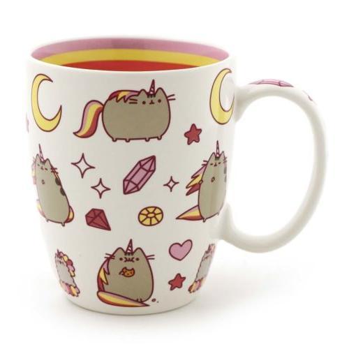 Enesco Our Name Is Mud Cat Pusheen Coffee Mug Design