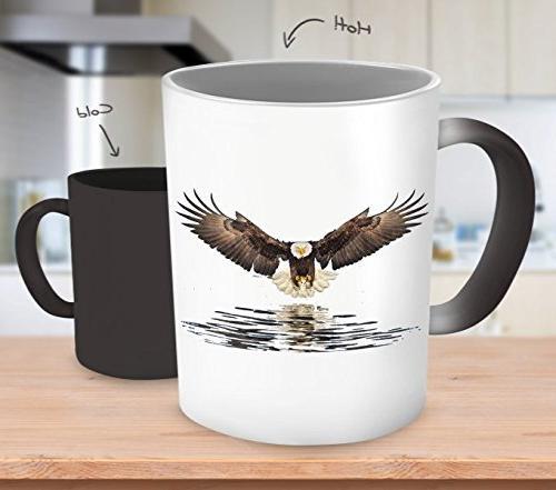 SpreadPassion Eagles - Eagle Color Mug 11 Ceramic Mug