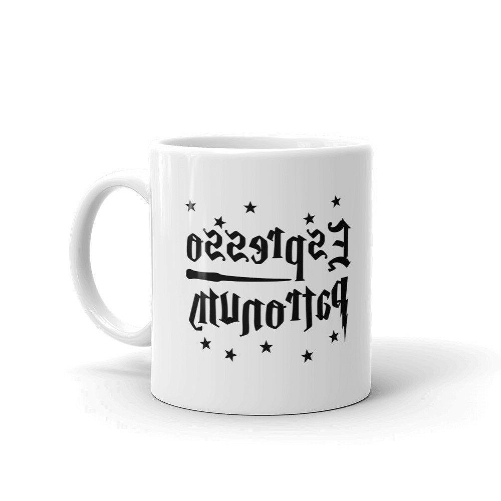 espresso patronum magic spell funny coffee tea