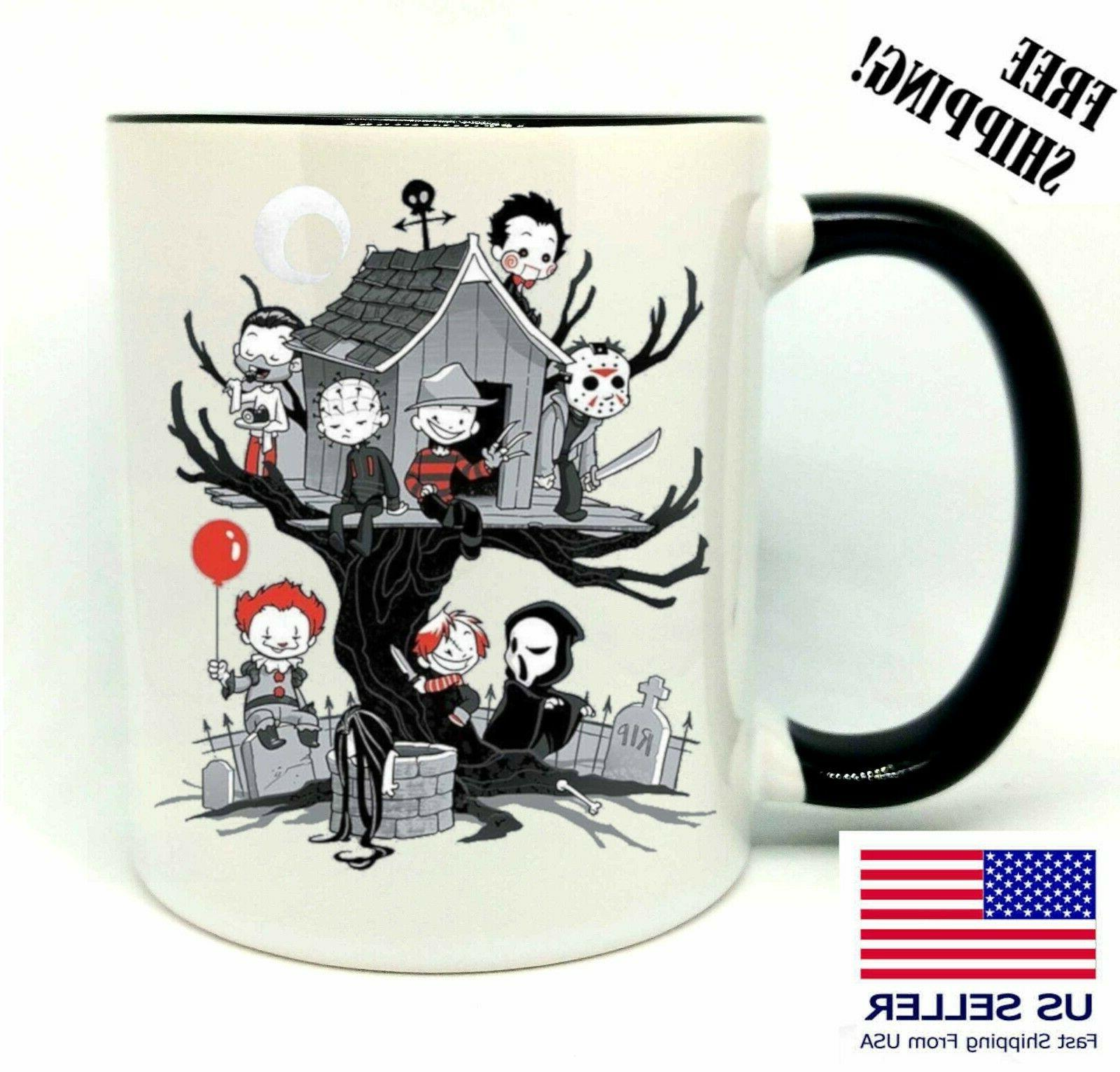evil kids halloween coffee mug 11oz