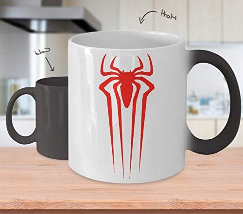 evil spiderman red