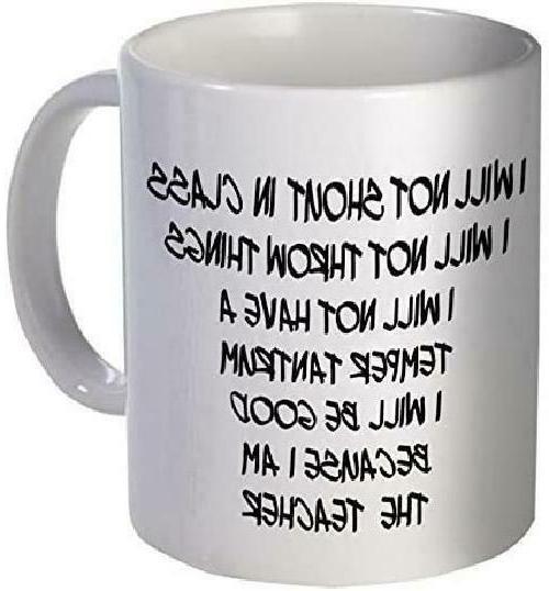 Evplkigir 11Oz Coffee Mug - Good Teacher, School Willcallyou