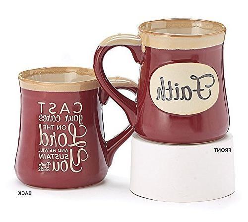 faith coffee tea mug psalm