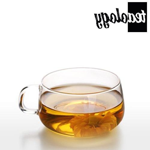 Teaology Tea/Coffee Cup Glass