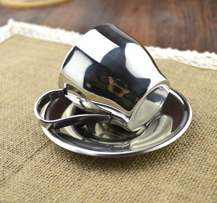 304 steel double flower <font><b>espresso</b></font> <font><b>mug</b></font> <font><b>coffee</b></font>