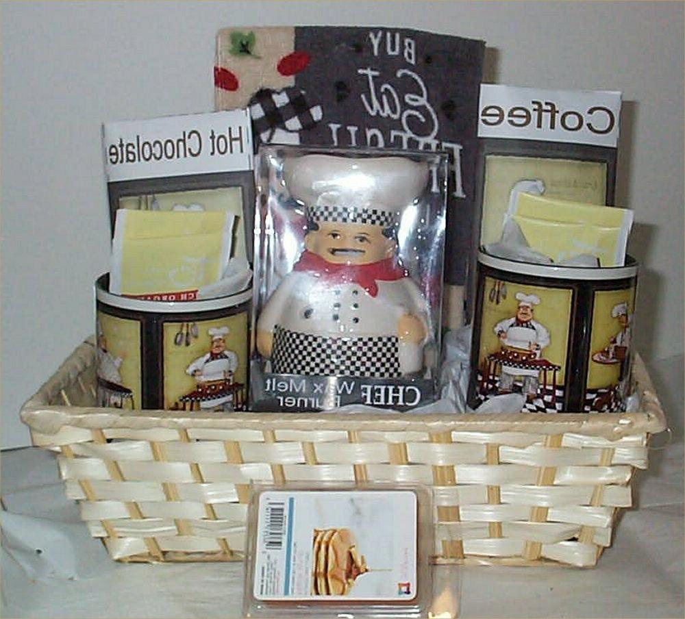 Fat Chef Kitchen Towel Coffee Cocoa Basket