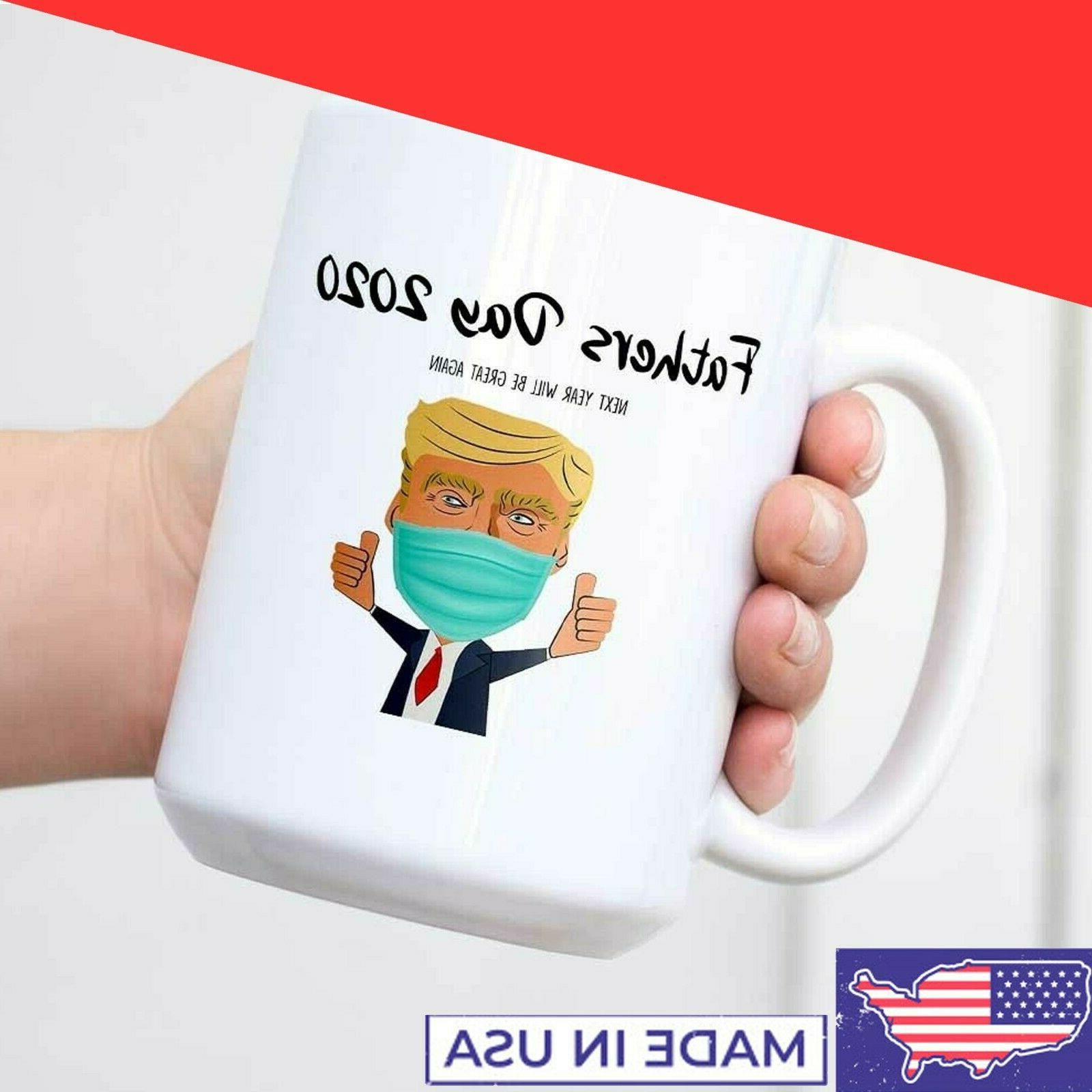 Fathers Day 2020 Trump Quarantine Funny Gift For Dad Novelty