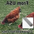 Fence Net Mesh Poultry Netting Farmer Hen Bird Netting Garde