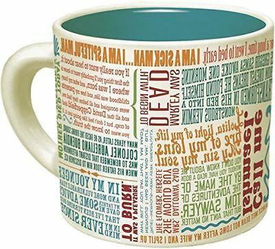 First Lines of Literature Mug English Gift Coffee Cup Unempl