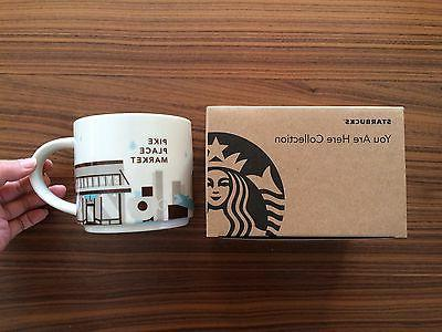 First Starbucks Mug You Are Here Pike Place Market Seattle 1