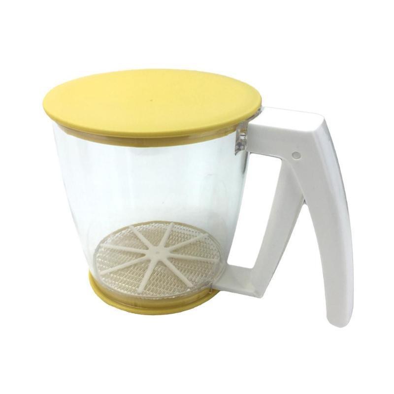 Flour Sifter Shaker Flour Sieve <font><b>Mugs</b></font> Des