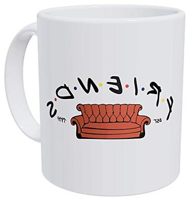 della Pace Friends Est 1994 Couch Sofa 11 Ounces Funny Coffe