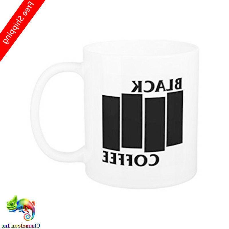 Funny Black Flag Coffee Mugs for Women Office Mug Gifts Coff