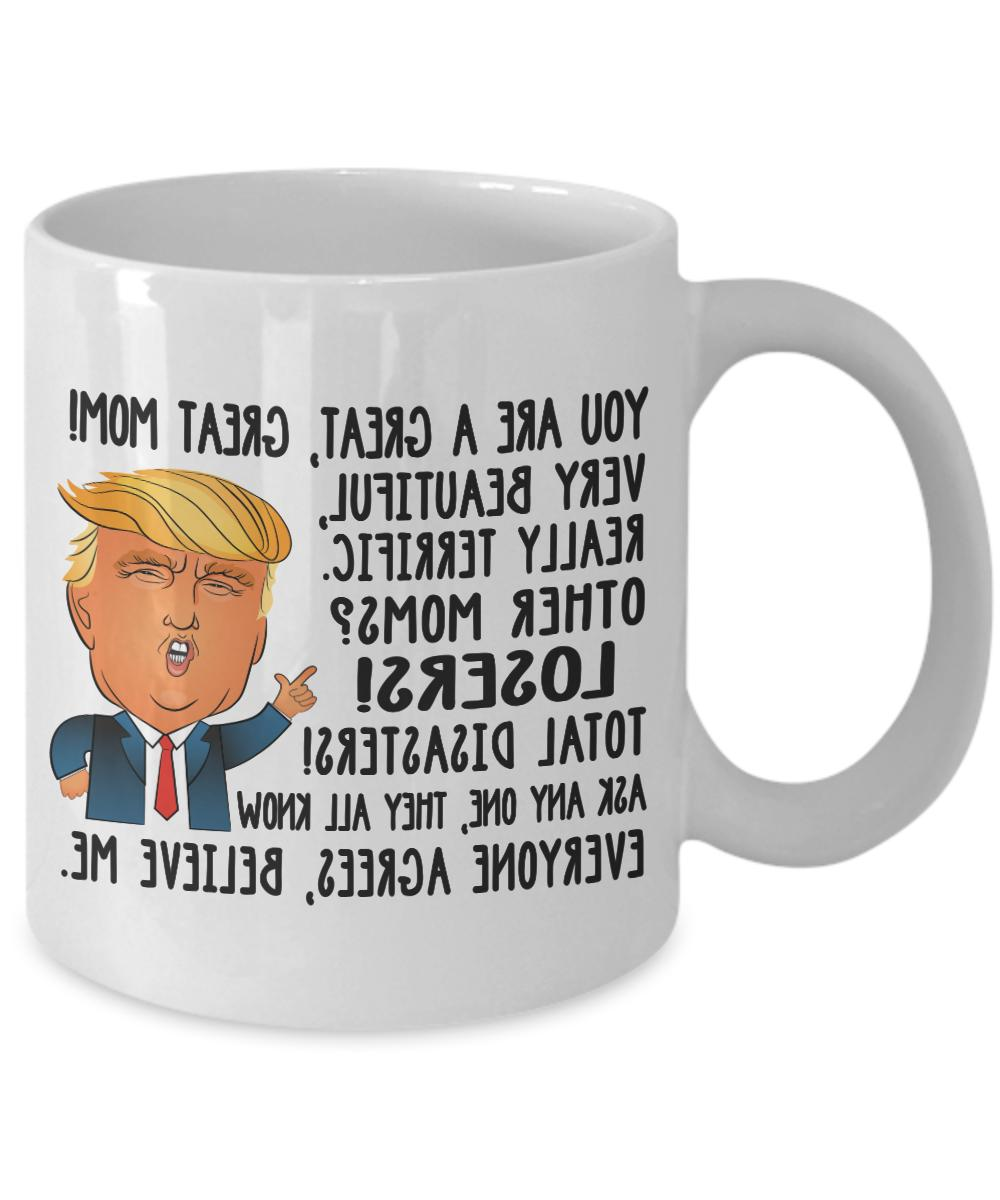 funny donald trump great mom coffee mug